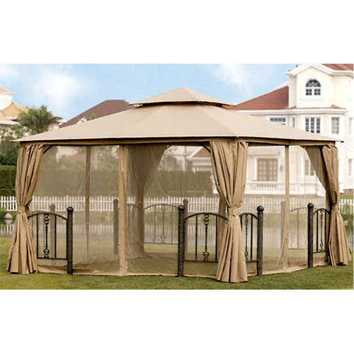Garden Winds Replacement Canopy Top for the Kilpatrick Lane 12 x 12 Gazebo - Riplock 350