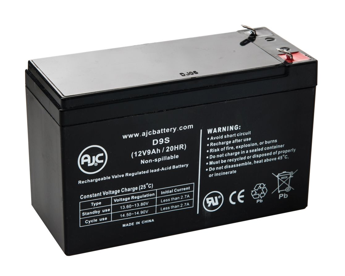 APC Back-UPS NS 8 Outlet 600VA 120V (BN600R) 12V 9Ah UPS Battery This is an AJC Brand Replacement by AJC Battery