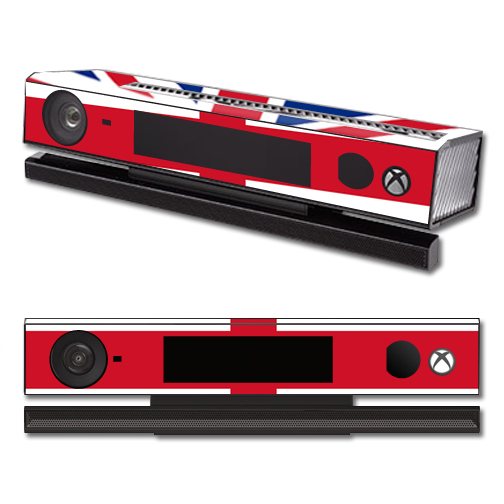 Mightyskins Protective Vinyl Skin Decal Cover for Microsoft Xbox One Kinect wrap sticker skins British Pride