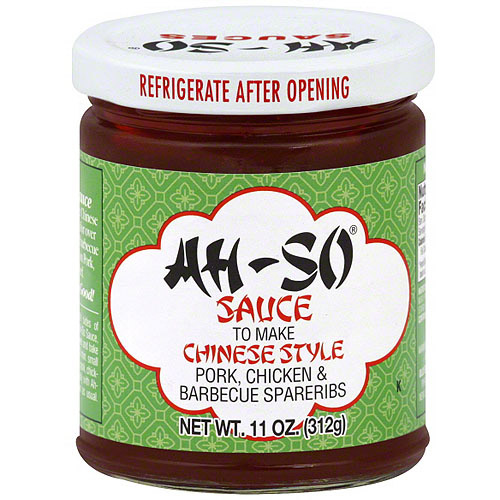 Ah-So Barbecue Sauce, 11 oz (Pack of 12)