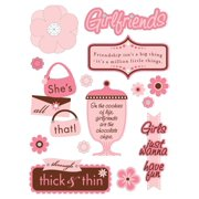 GIRLFRIENDS DESIGN SHOP STICKERS Making Memories Embellishments
