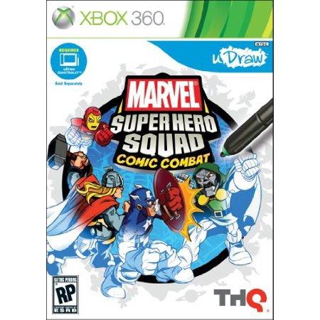 uDraw Marvel Super Hero Squad: Comic Combat, THQ, XBOX 360, 752919553954 (Xbox 360 Air Combat)