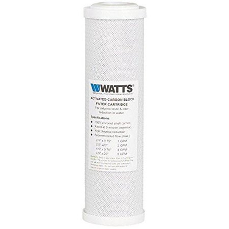 WaterSentinel WS-21 Calcium Inhibitor Filter and Misting System Protector 1-Pack