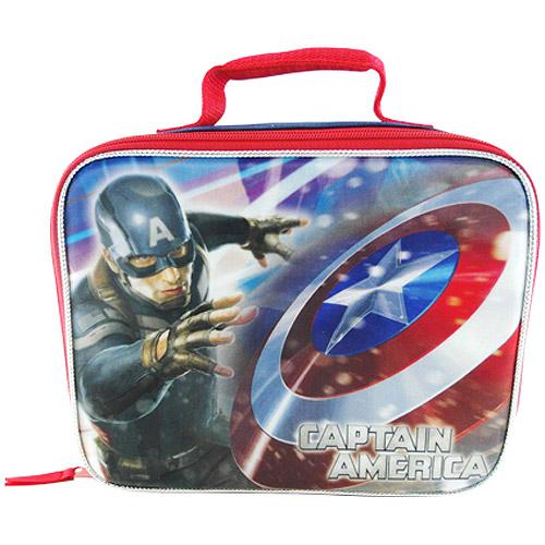 Marvel Captain America Lunch Kit, Blue