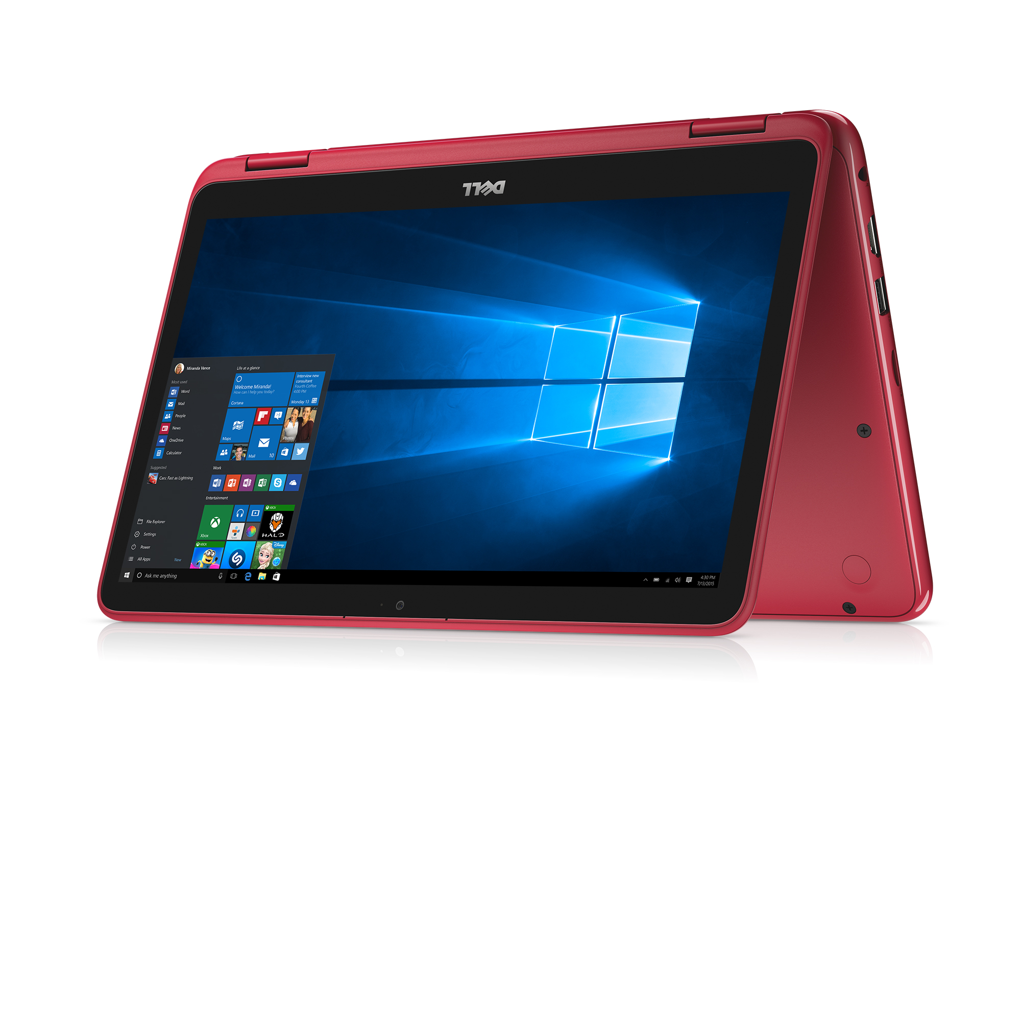 "Dell Inspiron 11.6"" 2-in-1 - AMD A9 - 4GB 2400MHz DDR4 - 500 GB HDD - Integrated Graphics AMD APU"