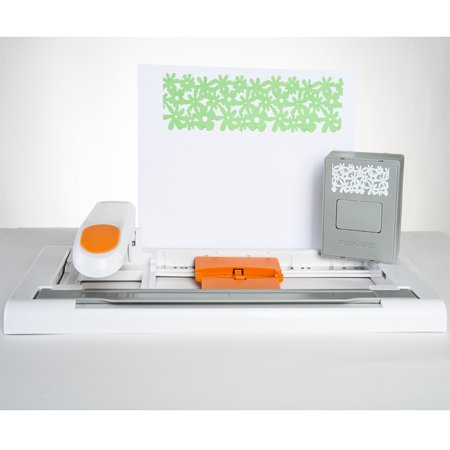 DIY Fiskars Borders & Ribbons with Interchangeable Design (Page Border Designs)