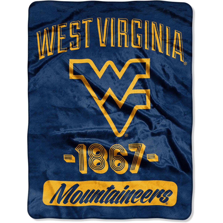 "NCAA West Virginia Mountaineers ""Varsity"" 46"" x 60"" Micro Raschel Throw"