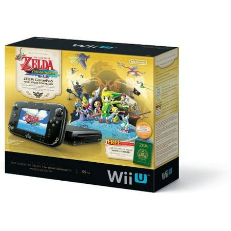 Refurbished The Legend Of Zelda: The Wind Waker HD Deluxe Set For Nintendo Wii