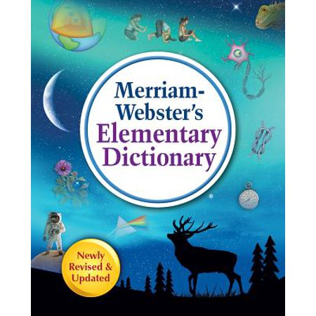 Merriam-Webster's Elementary Dictionary (Revised, Updated) (Hardcover) (Orange Elementary)