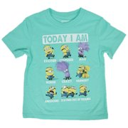 Despicable Me Minions Toddlers T-Shirt Mint Green Today I Am Mood Print