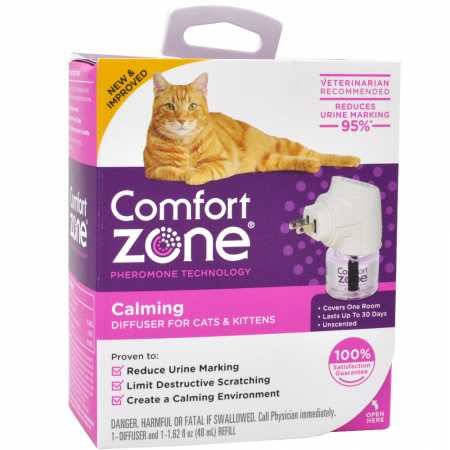 Farnam FA00213 Comfort Zone Calming Diffuser Kit for Cat