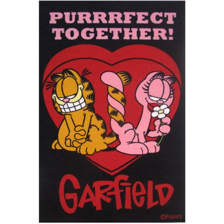 Fun Rugs Garfield Purrfect Together Kids Rugs