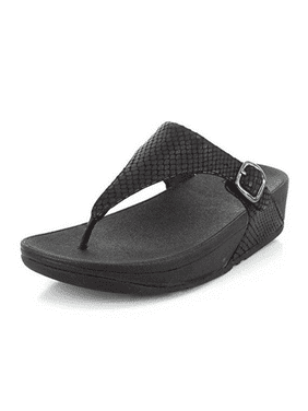 7ec736500cb5ac Product Image FitFlop Women s The Skinny Sandals E58-424 Black Snake