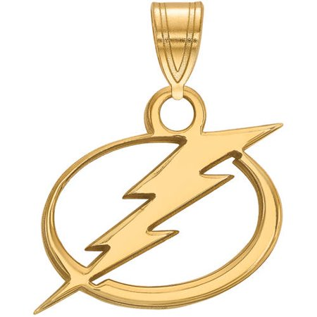 NHL Tampa Bay Lightning 14kt Yellow Gold Small Pendant Tampa Bay Lightning Window