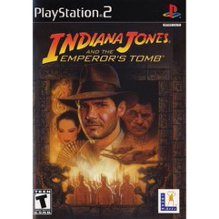 Indiana Jones and the Emperors Tomb - PS2 Playstation 2