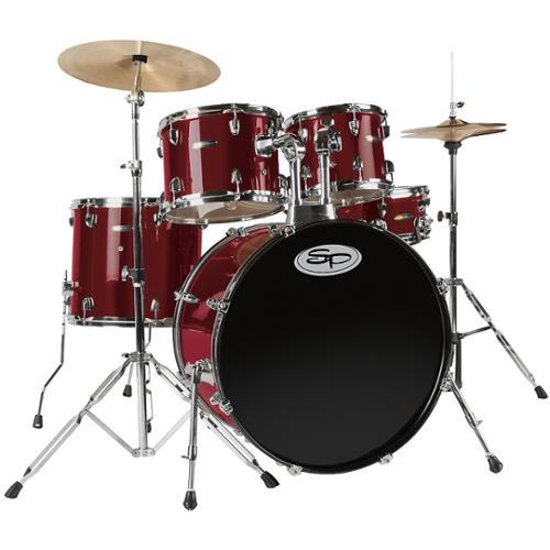 Sound Percussion 5-Piece Shell Pack Wine Red