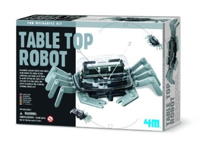 4M Table Top Robot Science Kit by 4M