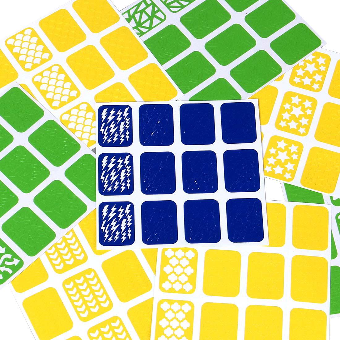Maniology (formerly bmc) Super Fun 8pc Mixed Pattern Manicure Nail Art Vinyl Stickers Set