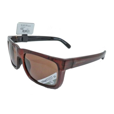 Ryders Eyewear Pemby Brown Crystal with ColourBoost AR Brown Lens Sunglasses