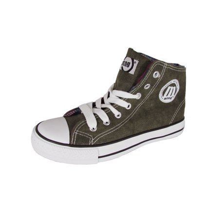 Mustang By MTNG Womens 20055 High Top Sneaker (Best Tennis Shoes For High Arch Feet)