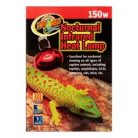 Zoo Med Nocturnal Infrared Heat Lamp, 150 Watt