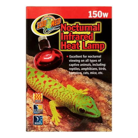 Zoo Med Nocturnal Infrared Heat Lamp, 150 Watt