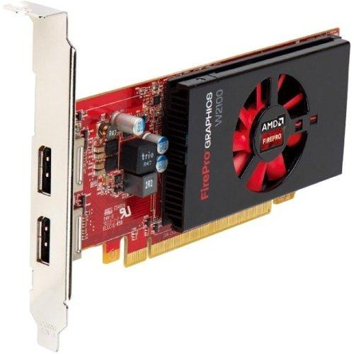 Amd Firepro W2100 Graphic Card - 2 Gb Gddr3 - Pci Express 3.0 X16 - Half-length/low-profile - Single Slot Space Required - 128 Bit Bus Width - Fan Cooler - Opencl 2.0, Opengl 4.4, (100-505980_3)