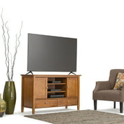 Simpli Home Warm Shaker TV Media Stand