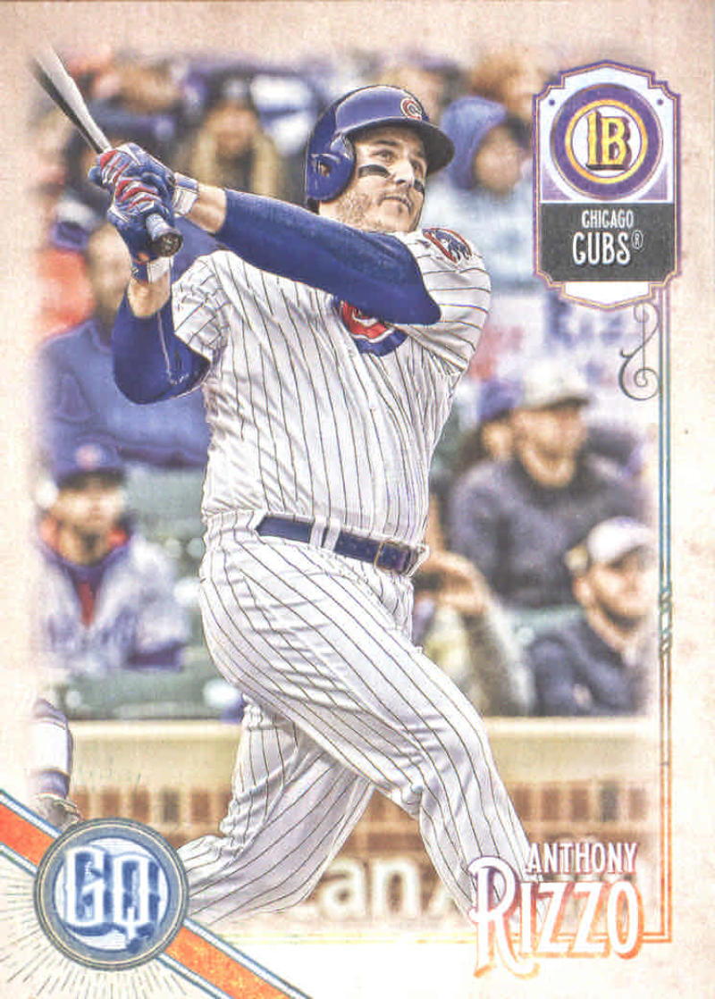 GOTBASEBALLCARDS 2018 Topps Gypsy Queen #95 Jon Lester Chicago Cubs Baseball Card