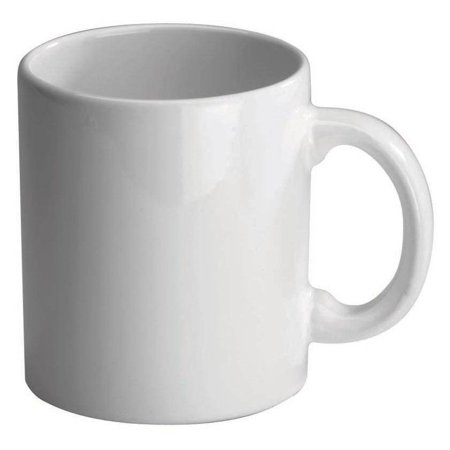Fun Factory Mug in White - Set of 4