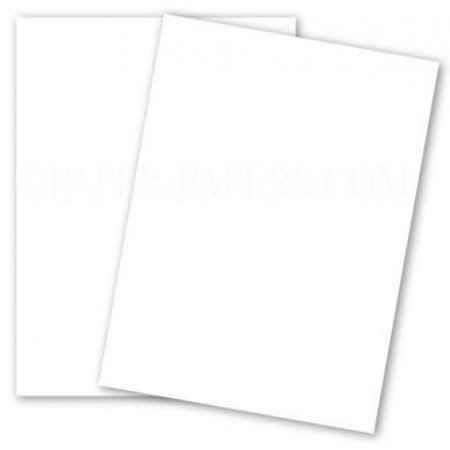 Color Copy Gloss 94B Pure White 12-x-18 Cardstock Paper 250-pk - 270 GSM (100lb Cover) PaperPapers Large size Card Stock Paper - Business, Professionals, Designers, Printers and more