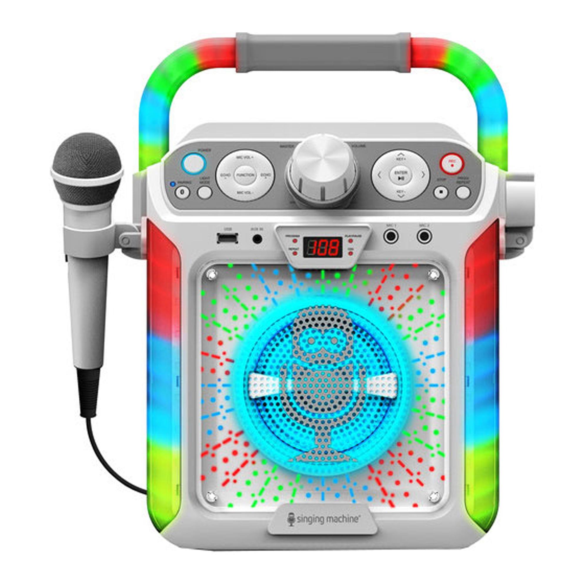 Singing Machine - Groove Cube CDG Karaoke System Plus Bluetooth, Black