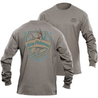 Flying Fisherman Long Sleeve Shield Tee (Two Colors Available)