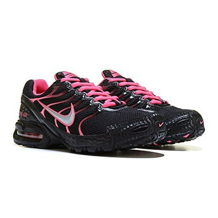 e4091ef3e078 Nike - NIKE Women s Air Max Torch 4 Running Shoe Black Metallic Silver Pink  Flash Size 10 M US - Walmart.com