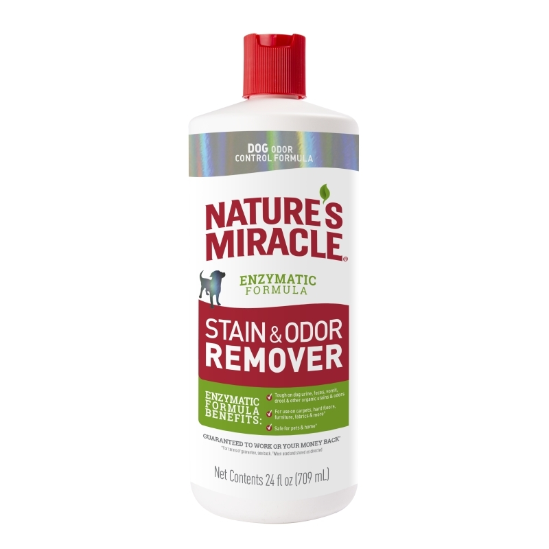 Nature's Miracle Stain and Odor Remover for Dogs, 24-Ounces