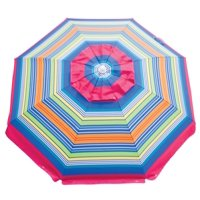 Rio 6' Tilt Beach Umbrella with Wind Vent