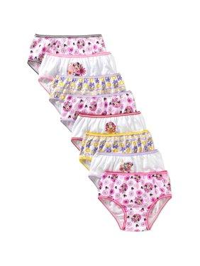 Disney Minnie Mouse Girls Underwear, 7 + 1 Pack Panties (Little Girls & Big Girls)