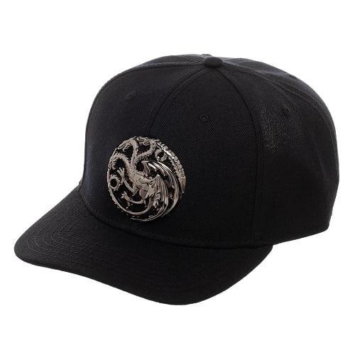 Bioworld - Game of Thrones House Targaryen 3D Logo Snapback Hat