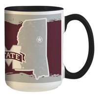 Mississippi State Bulldogs 15oz. It's Your State Of Mind Mug - No Size