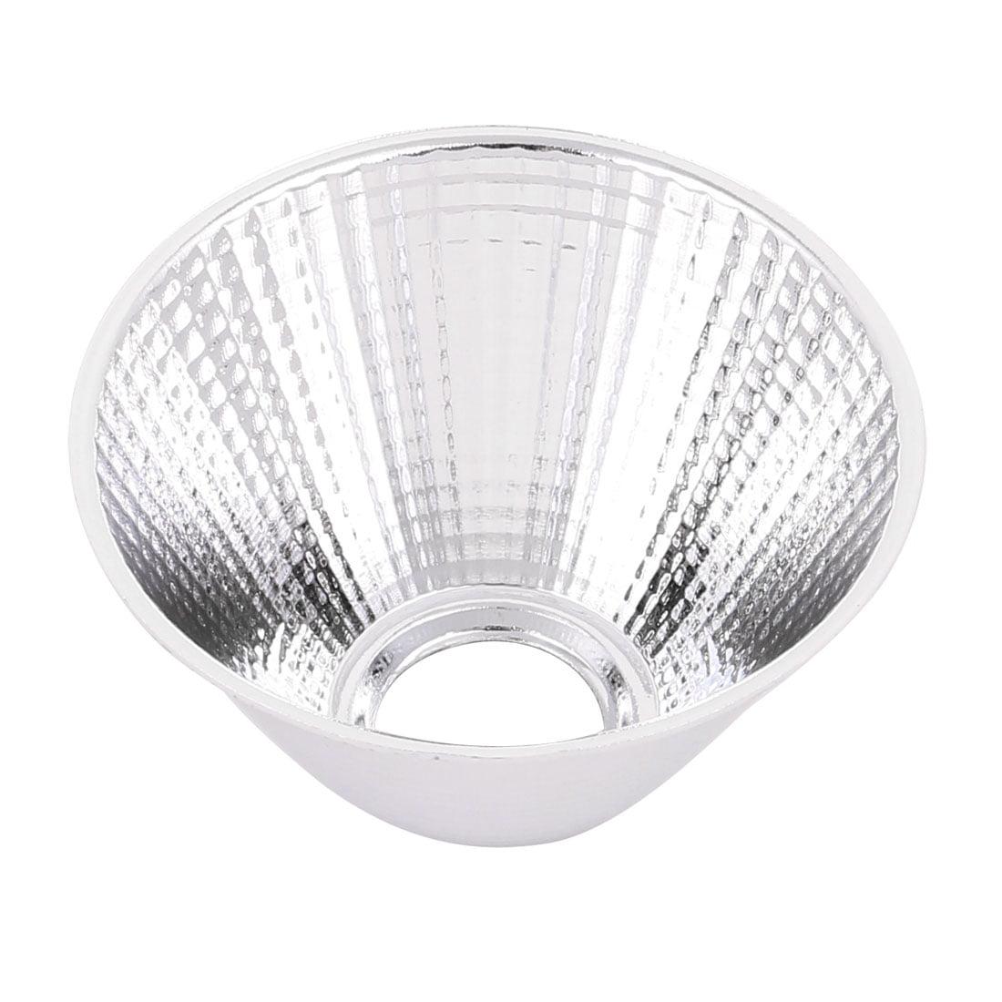 D69mm H40mm Aluminum LED Light Lamp Reflector Cup for LED COB Flashlight - image 2 de 2