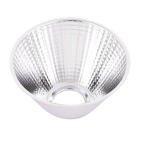 D69mm H40mm Aluminum LED Light Lamp Reflector Cup for LED COB Flashlight ()