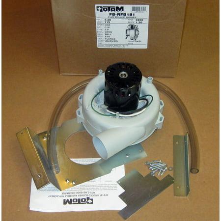 Inducer Furnace Blower Motor for Olsen Airco 117591-00 Rotom