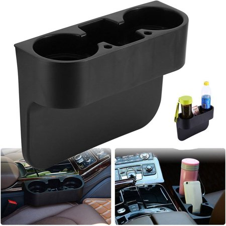 EEEKit Cup Holder Seat Seam Wedge Drink Beverage Seat, Mount Stand Storage Organizer Cellphone Holder Glove Box Multifunction Car Accessories ()