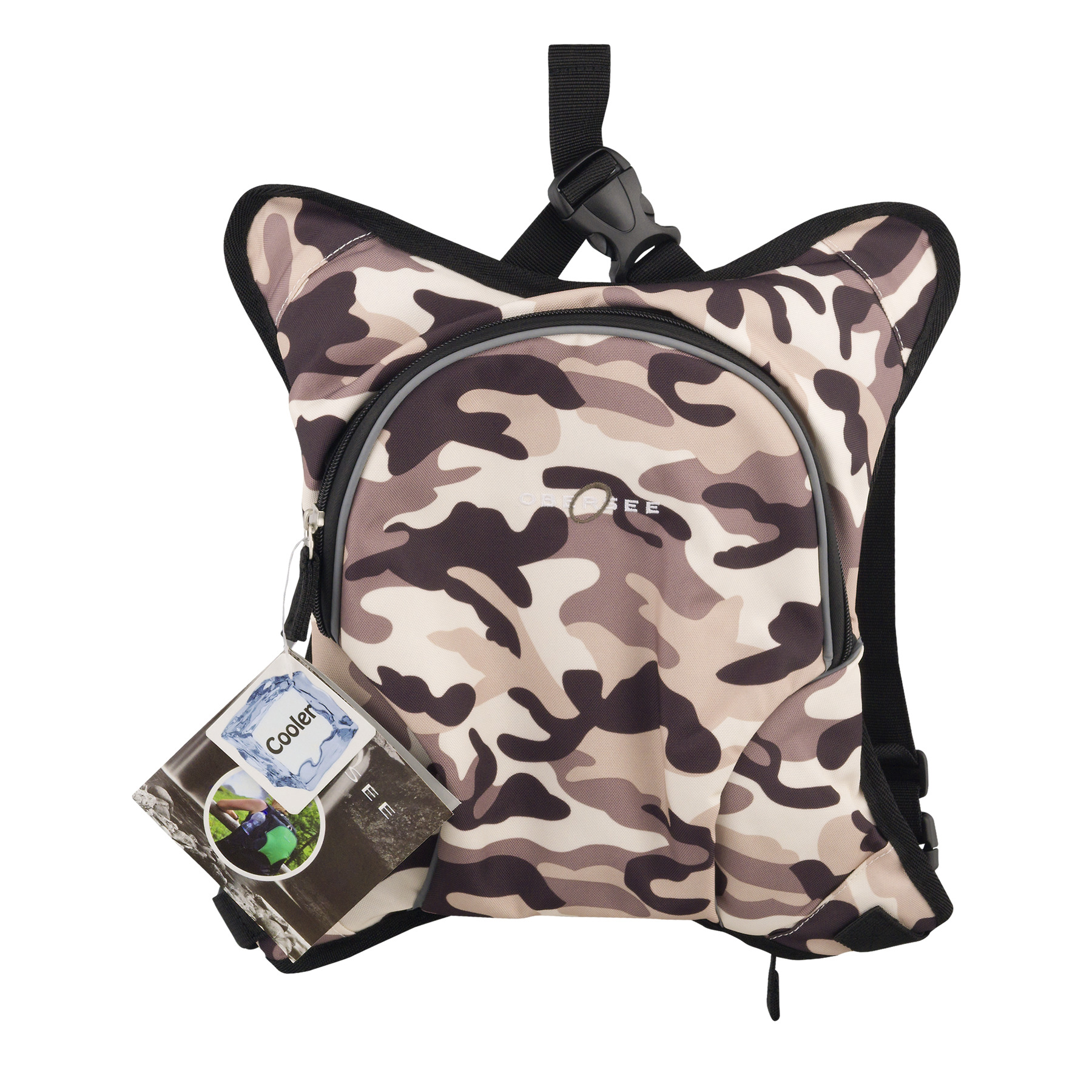 Obersee Baby Bottle Cooler Attachment, Camo