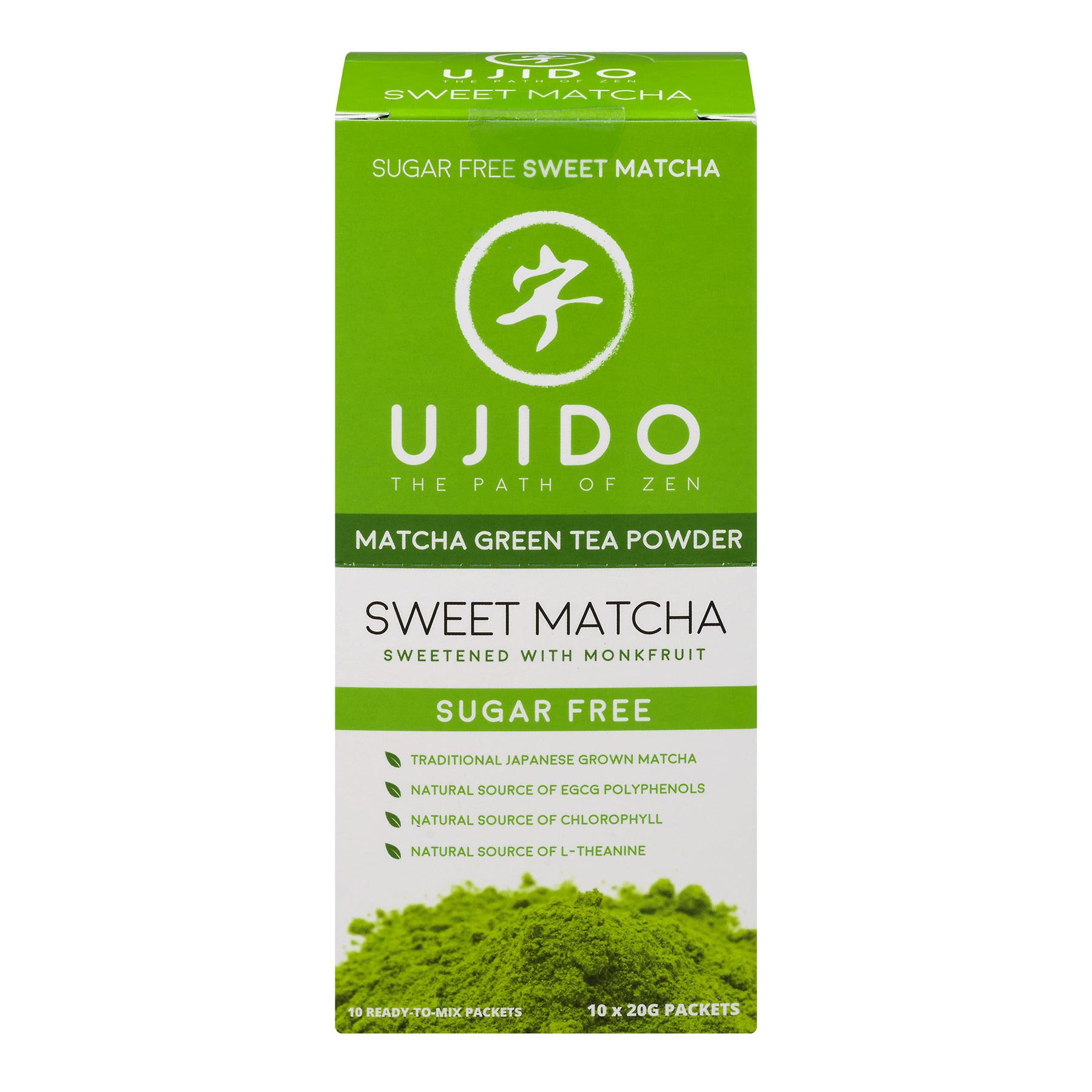 Ujido Drink Mix, Sweet Matcha, 0.7 Oz, 10 Packets, 1 Count