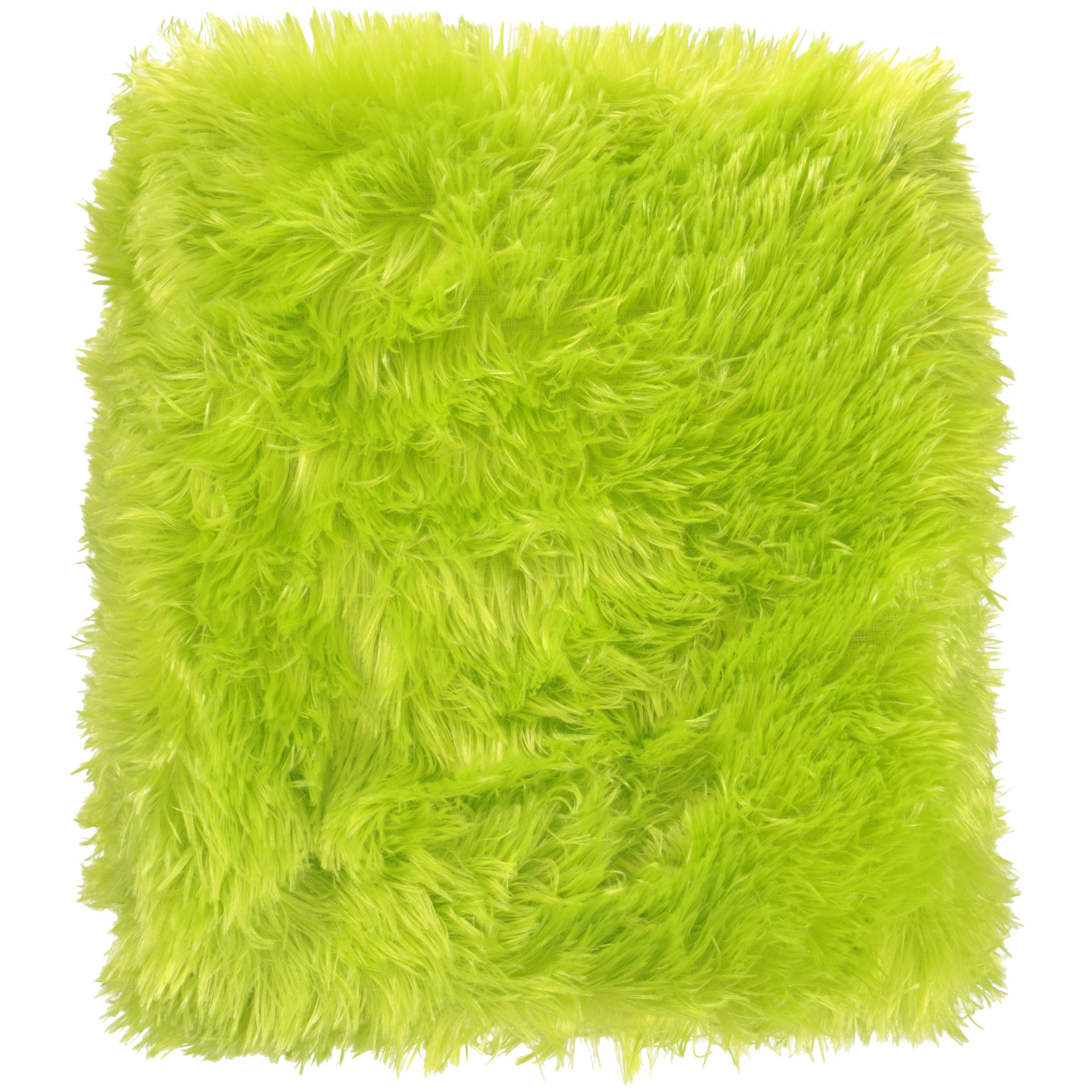"your zone 50"" x 60"" longhair fur throw"