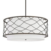Donny Osmond Home Sawyer 4 Light Drum Pendant