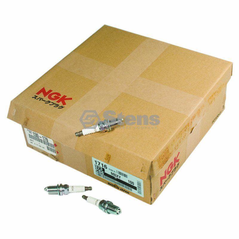 Box Of 100 - Stens 130-178 Ngk Spark Plug Shop Pack