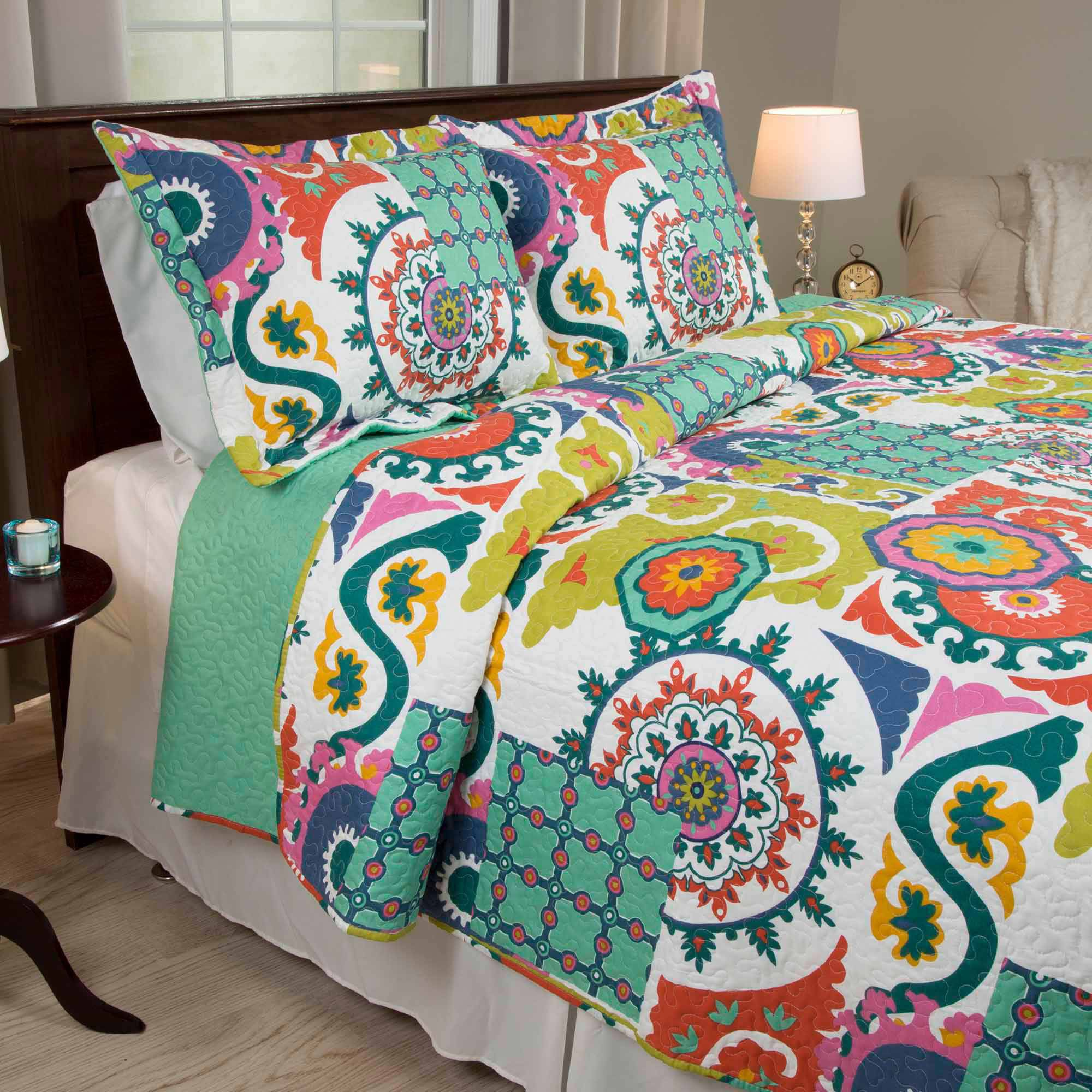 Somerset Home Sybil Quilt Set by Trademark Global LLC