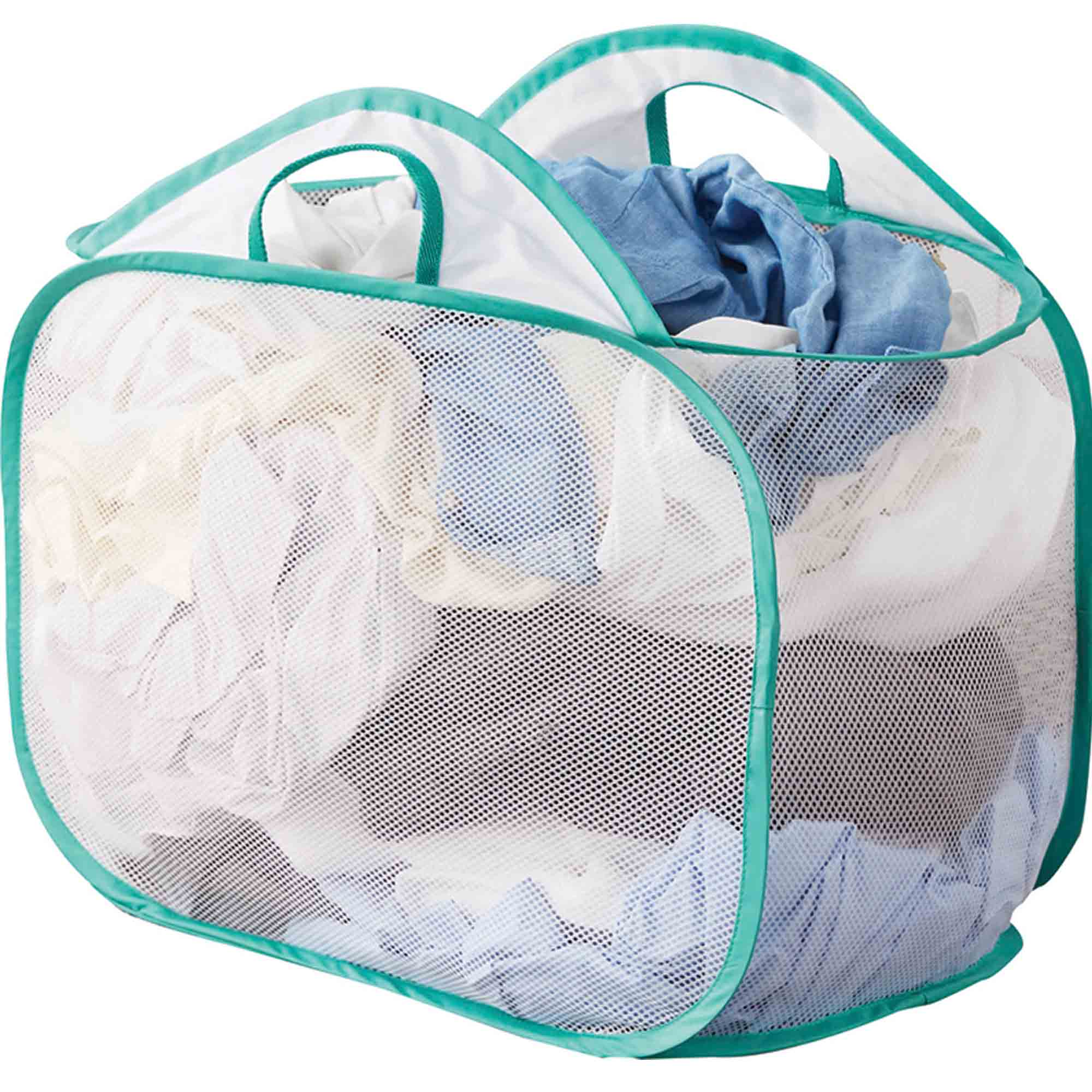 Mainstays White Mesh Pop Up Laundry